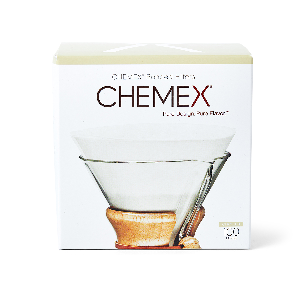 Station 1 Coffee House - Chemex Bonded Filters - Circle
