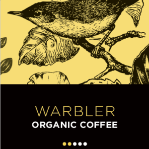 Station 1 Coffee House - Coffee Beans - Warbler Front