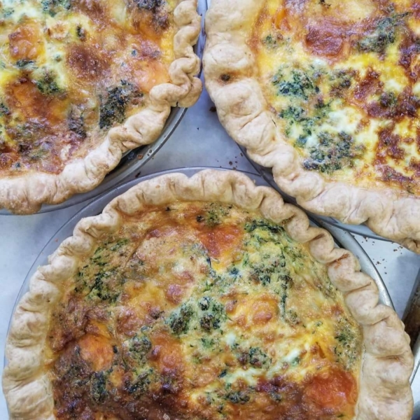 Station 1 Coffee House - Quiche