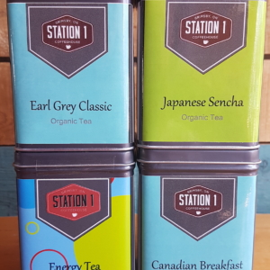 Station 1 Coffee House - Tea Tin
